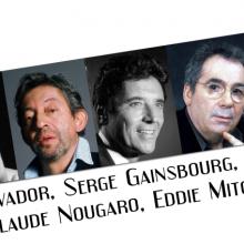 Les grands crooners français