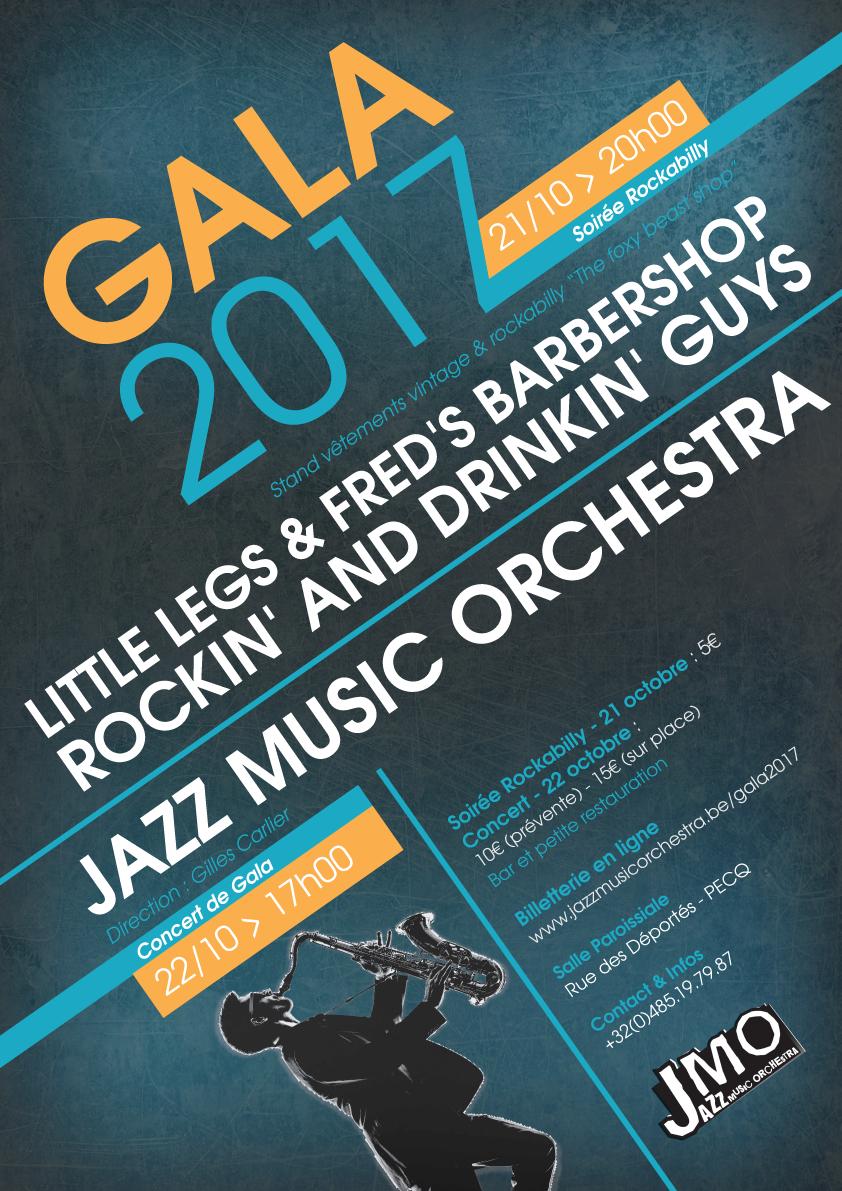Gala 2017 - Soirée Rockabilly @ Salle Saint-Martin, Pecq | Pecq | Région wallonne | Belgique