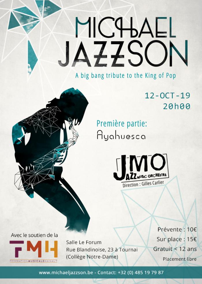 """""""Michael JAZZson"""" - Création mondiale ! @ Salle """"Le Forum"""" (Collège N-D Tournai)"""