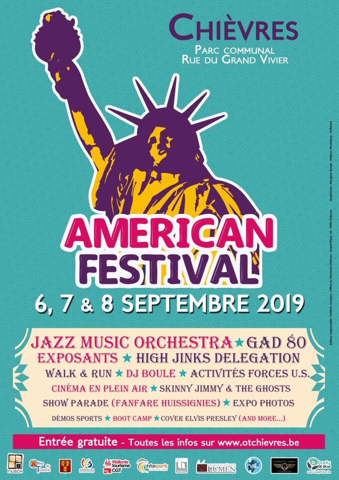 American Festival @ Parc Communal, Chièvres