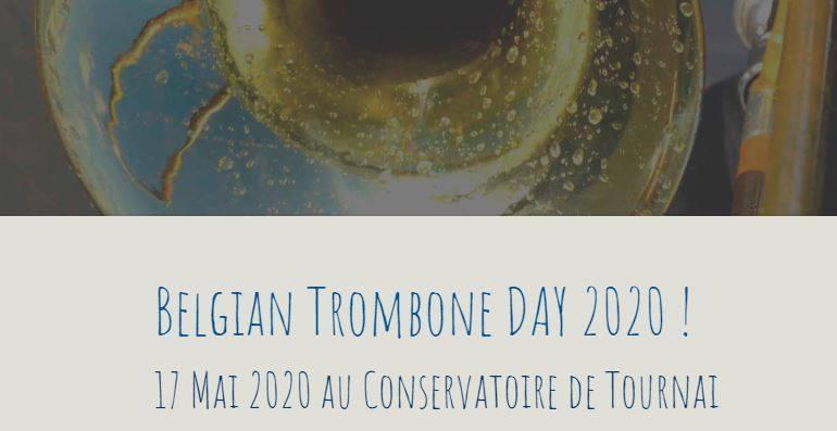 Belgian Trombone Day 2020 @ Conservatoire de Musique de Tournai
